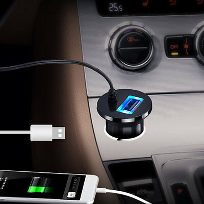 Bluetooth Car Kit Stereo Music Receiver MP3 Player Hands-free 3.5mm Aux Input AU