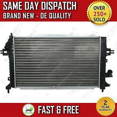 Vauxhall/opel Astra H 1.3, 1.7, 1.9, 2.0 Manual Radiator 2004>On 2 Year Warranty