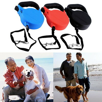 8M Dog Cat Puppy Automatic Retractable Traction Rope Walking Lead Leash Lot LU