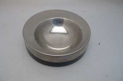 Vintage Old Hall   Stainless Steel Dish  Bowl  R Welch Modernist