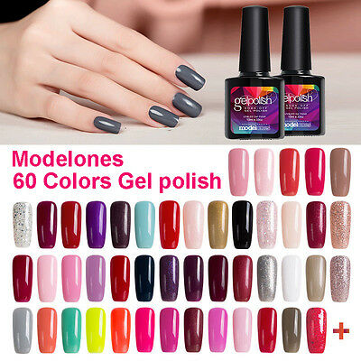 Modelones 10ML Soak off UV LED Color Gel Nail Art Gel Polish Long Lasting