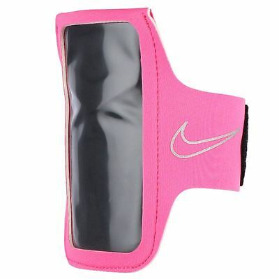 Nike Smartphone Phone Gym Sports Running Arm Band 2.0 - Pink /Silver - New
