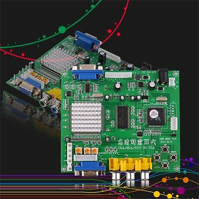 NEW Arcade Game RGB/CGA/EGA/YUV to VGA HD Video Converter Board GBS8200 FQ