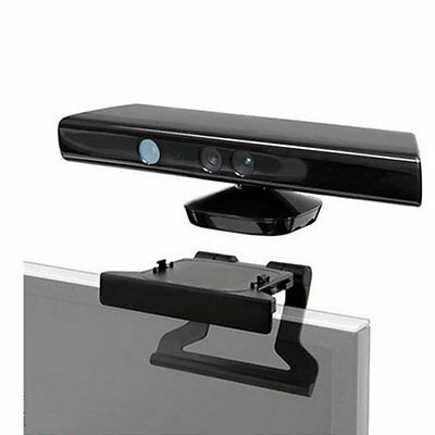 TV Clip Mount Mounting Stand Holder for Microsoft Xbox 360 Kinect Sensor FQ