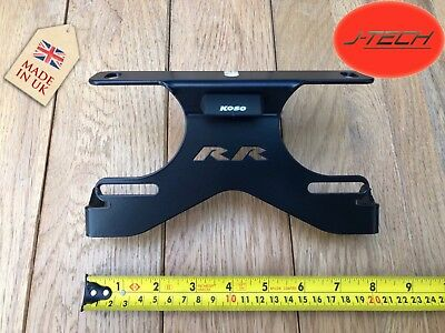 **BMW S1000RR Tail Tidy Number Plate Holder 2009 - 2019 With 'RR' LOGO**