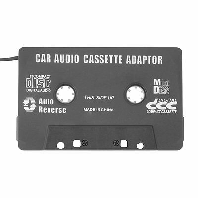 Car Cassette Tape Adapter Converter for MP3 iPhone 4 4S iPod Touch Nano CD MD FQ