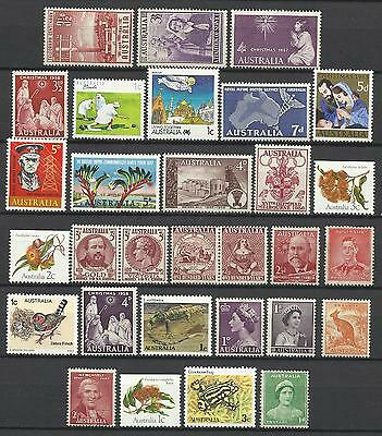 AUSTRALIA Collection Packet of 30 Different AUSTRALIAN Stamps MINT Never Hinged