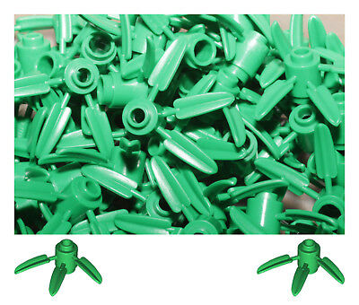 Lego 30176 Bamboo Leaves 3X3 Green 20 Pack. Star Wars City Friends Creator Dc