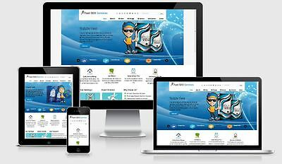 Turnkey SEO Website Template, Social, Reseller Business, install free