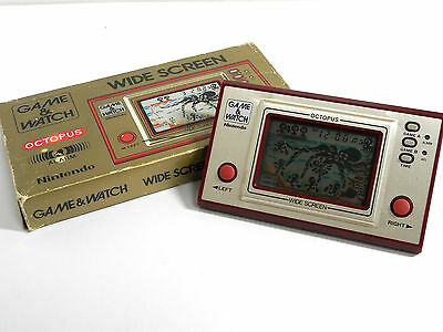 Nintendo Game & Watch Octopus OC-22 Boxed MIJ 1981 Great Condition Free Postage!