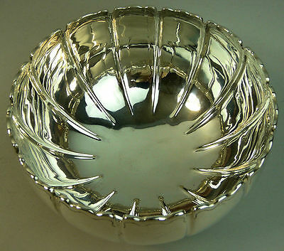 George V Antique Irish Silver Rose Bowl Dublin 1921 - 488 Grams