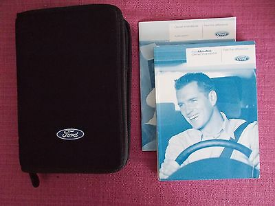 Ford Mondeo (2007 - 2010) Owners Manual - Owners Guide - Handbook (Sejl 458)