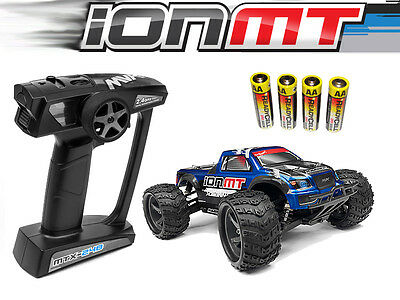 Maverick Ion Mt 1/18 Rtr Electric Monster Truck Radio Control 1/18 Car Off Road