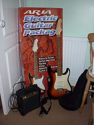 Aria Electric Guitar Package