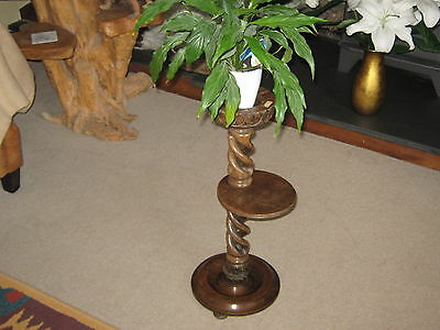 1910-1920 Edwardian Cigar Stand Re-purposed as Plant Stand and Spray Holder