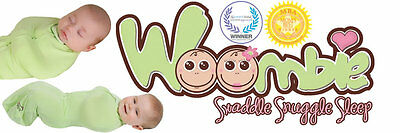 WOOMBIE Baby Swaddle ~ Choose Size/Color