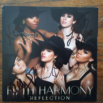 Fifth Harmony Refection cd includes cd card signed by all 5 group members Camila