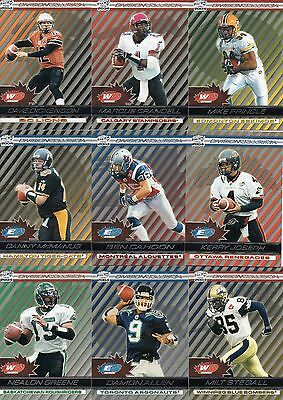 2004 Pacific CFL Division Collision Insert Complete Your Set Choose from List