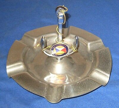 Vintage P & O SS Canberra Stainless Steel Ashtray