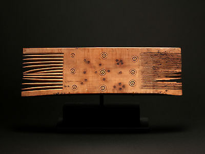 Large Coptic Wood Comb