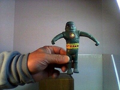 Alien Space Astronaut Rubber Bendy Imperial Toys 1978
