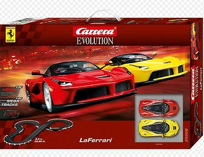 25208 Carrera Go Slot Coche Evolution LaFerrari 6,3m Set De Pista 1:32 UK
