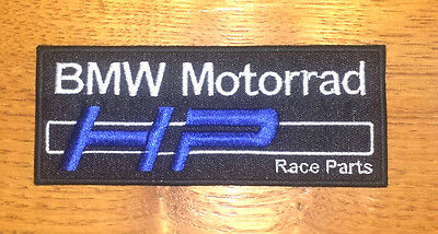 PROMO Patch écusson thermocollant toppa aufnäher embroidered. BMW motorrad HP.