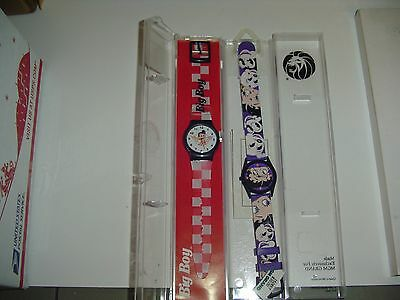 BETTY BOOP watch and BIG BOY,  new old stock, will need batteries to use