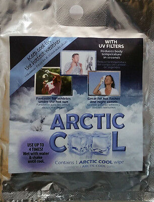 Arctic Cool Wipes (10 pack)
