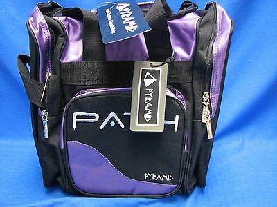Pyramid Path Pro Deluxe Single Tote - Black Purp  NWT Free Shipping
