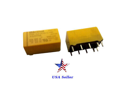 Aromat DS2E-SL2-DC5V, 2 Form C,2 coil latching, 5VDC, DS relays, lot/25