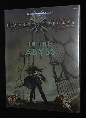 AD&D 2nd Ed. - PLANESCAPE - In The ABYSS - AD&D Sealed in original SHRINK!