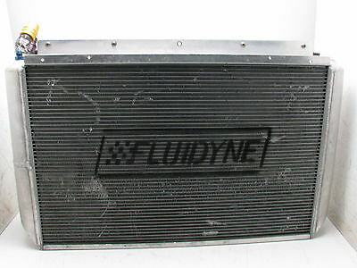 NASCAR FLUIDYNE  ALUMINUM RADIATOR w/ OIL COOLELR RACING HOT ROD C&R LS1  #20