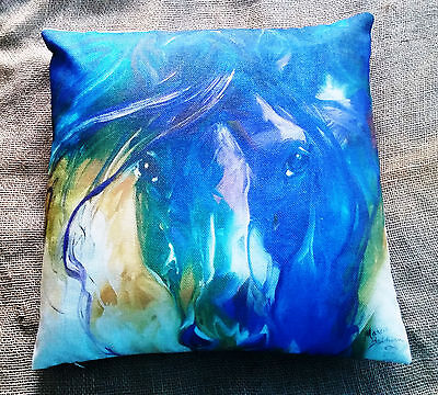 Horse Cushion 45 cm x 45cm Cover and Insert NEW
