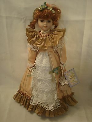 "Cathay Depot Collection ""Daisy"" 16"" Porcelain Doll"