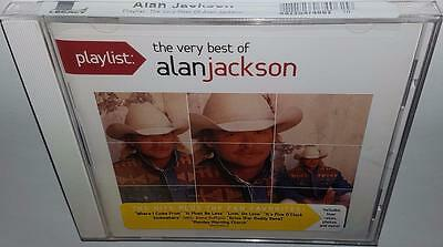 Alan Jackson Playlist: The Very Best Of (2012) Brand New Sealed Rare Oop Cd