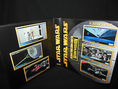 Custom Made Star Wars A New Hope Widevision Trading Card Album Binder