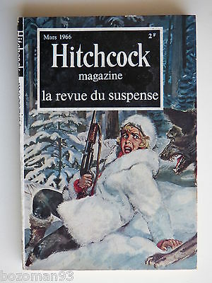 HITCHCOCK MAGAZINE n° 59 MARS 1966 HOWARD - DEMING - DAY - LACY - GILFORD