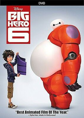 Big Hero 6 (2015, DVD NUOVO) (REGIONE 1)