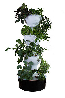 Hydroponic Grow Tower - Airponic Model 12 Package
