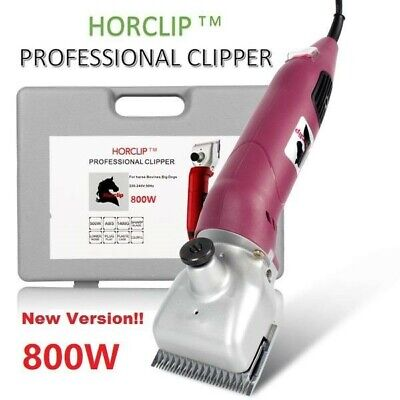 Horclip 500W Professional Extra Heavy Duty Horse Cattle Clippers + Extra Blades