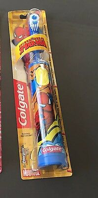 Kids Electric Toothbrush Barbie OR Spiderman (battery Operated)