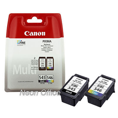 PG-545 CL-546 Black & Colour Genuine Ink Cartridge For Canon PIXMA MG2900