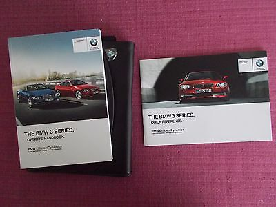 Bmw 3 Series Coupe & Convertible Owners Handbook - Owners Manual (Bm 631)