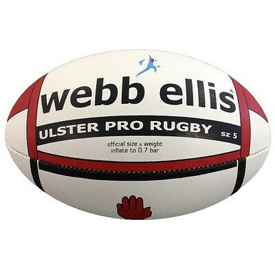 Webb Ellis Ulster Pro Rugby Ball - Same day dispatch - FREE DELIVERY