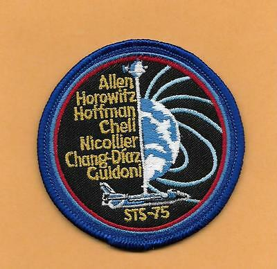 "Shuttle Columbia Sts-75   3 "" Patch"