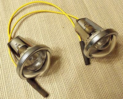 Early 1950's International R-150/ R-190/ R-200 Truck Dome Lights (2)