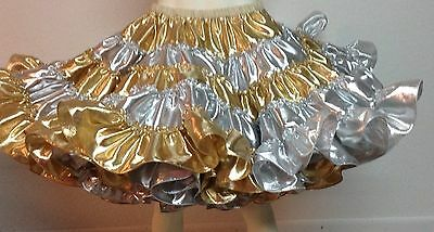 Gold And Silver All Lame Petticoat By Eva's Petticoats