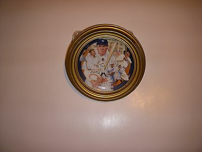 Sports Impressions Babe Ruth 1992 Hamilton Collection Plate