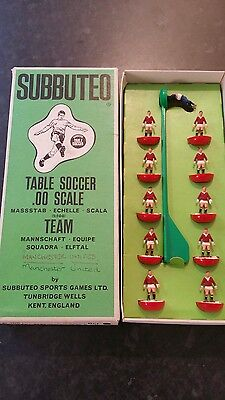 Manchester United Heavyweight (Reverse Base) Team Ref No.100 Boxed